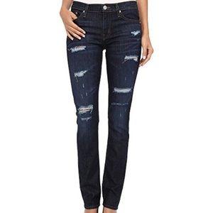 Hudson Jeans Skylar Relaxed Slim Straight 26 $198